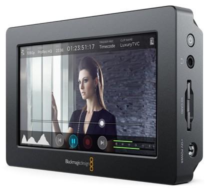 Blackmagic Design Video Assist HDMI/6G-SDI - Moniteur Enregistreur