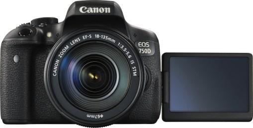 Canon EOS 750D + 18-135mm - Kit Appareil Photo et Objectif