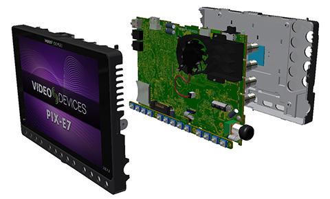 Video Devices PIX-E7 - Fabrication et alimentation