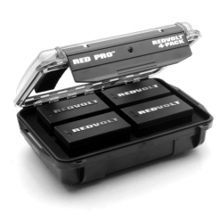 PACK DE 4 BATTERIES REDVOLT 740-0024