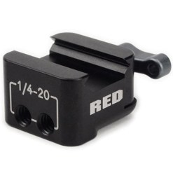 RED BOLT-ON SWAT RAIL CLAMP