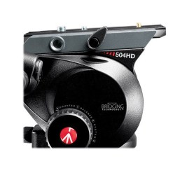 SYSTEME TREPIED MANFROTTO 504HD + ENTRETOISE 546GBK