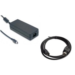 KIT ALIMENTATION EXALUX 60W + CABLE MINIDIN/DC JACK