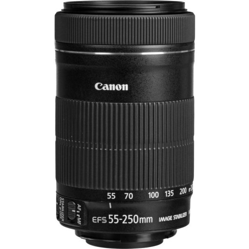 Canon EF-S 55-250mm F4-5.6 IS STM - Objectif