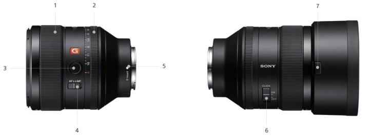 Sony FE 85mm F1.4 G MASTER - Objectif