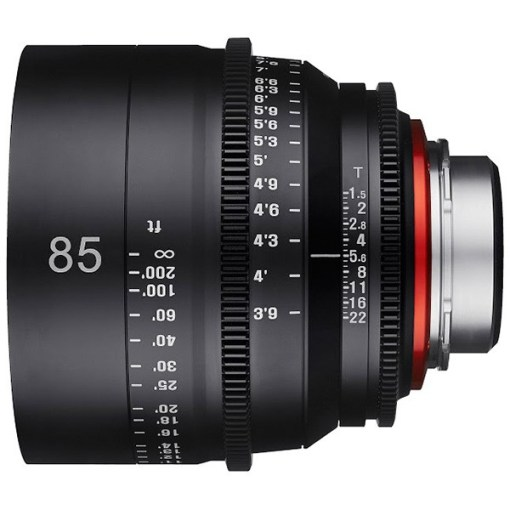 XEEN 85mm T1.5 Métrique Monture PL - Objectif Prime