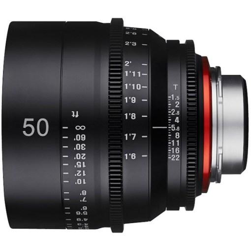 XEEN 50mm T1.5 Métrique Monture EF - Objectif Prime