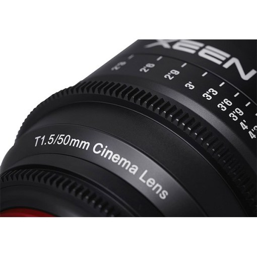 XEEN 50mm T1.5 Impérial Monture EF - Objectif Prime