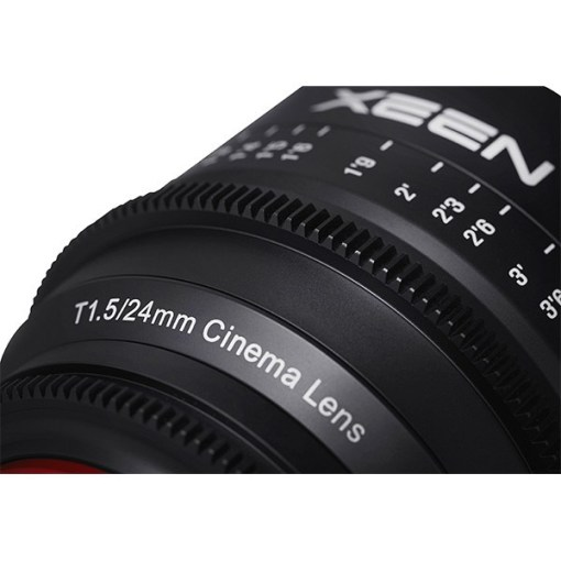 XEEN 24mm T1.5 (Micro 4/3, métrique) - Objectif Prime Cinéma