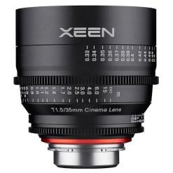 XEEN 35mm T1.5 (Micro 4/3, métrique) - Objectif Prime Cinéma