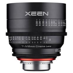 XEEN 35mm T1.5 Métrique Monture E - Objectif Prime