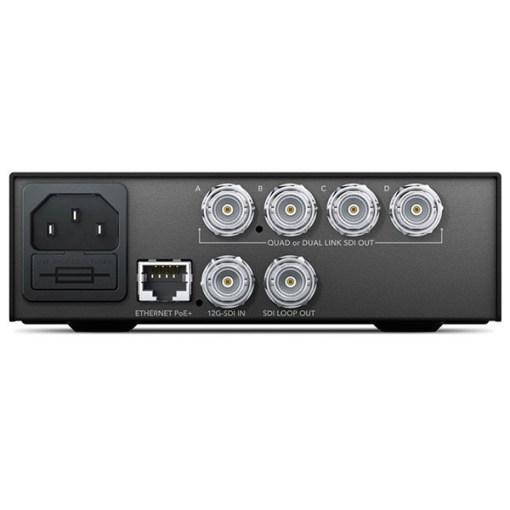 Blackmagic Design Teranex Mini 12G-SDI to Quad SDI Converter - Convertisseur