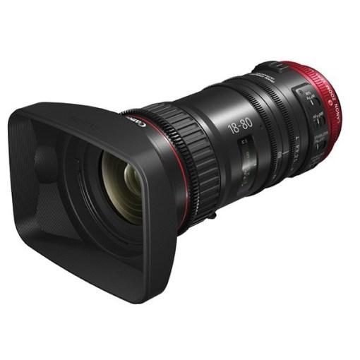 Canon CN-E 18-80 mm T4.4 L IS KAS S - Objectif Zoom Cinéma