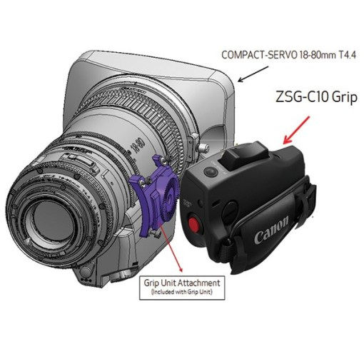POIGNEE CANON ZSG-C10