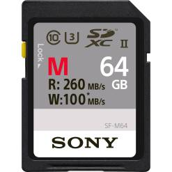CARTE SD SONY SF-64M 64Go