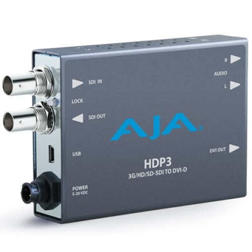 Convertisseur 3G-SDI vers DVI-D AJA HDP3