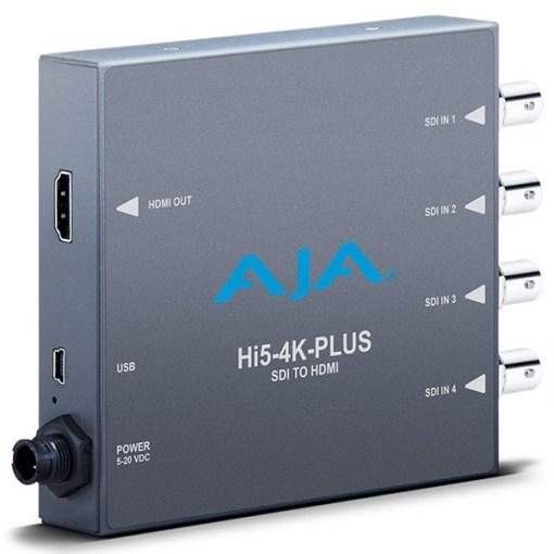 Convertisseur AJA Hi5-4K Plus