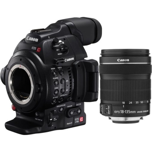 CANON EOS C100 MARK II + EF 18-135 IS STM