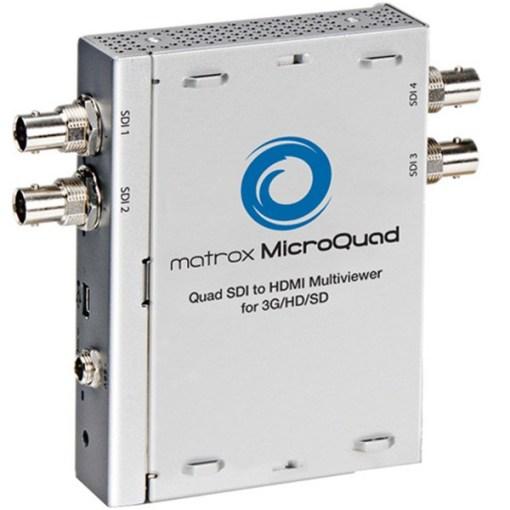 BOITIER MULTI-AFFICHEUR MICROQUAD SDI VERS HDMI