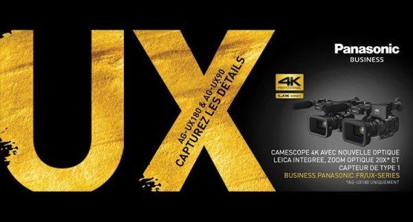 Panasonic lance la série UX !
