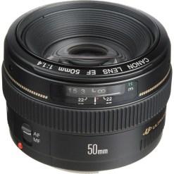 OPTIQUE CANON EF 50mm f/1.4 USM