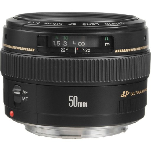 Canon EF 50mm F1.4 USM - Objectif
