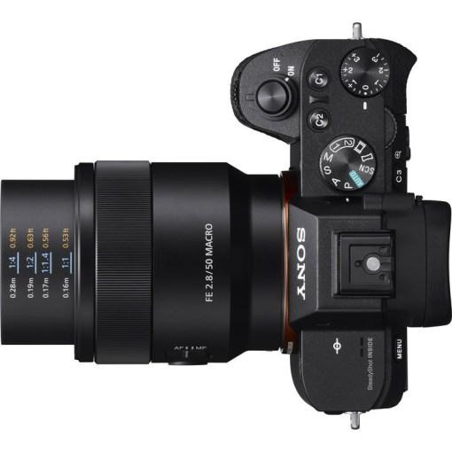 Sony FE 50mm F2.8 Macro - Objectif