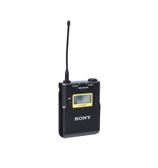 Sony UTX-B03 K33 - Kit HF Micro Cravate Émetteur