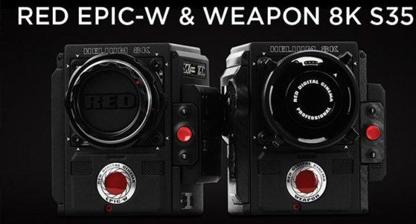 Nouvelles caméras RED HELIUM : EPIC-W & WEAPON 8K