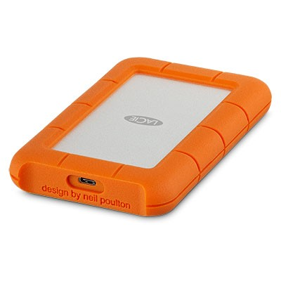 LaCie 2 To  Rugged USB-C - Disque Dur Externe