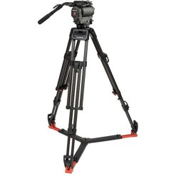 1030DS Head & 30L Tripod with Mid Level Spreader & Case