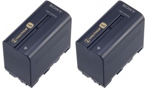 Sony NPF970 x2 - Batterie
