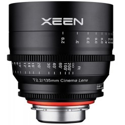 OBJECTIF PRIME XEEN 135MM MONTURE M43 T2.2 24x36MM IMPERIAL