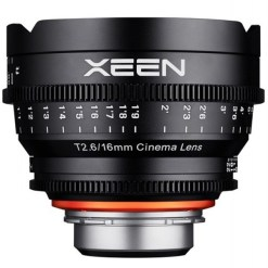 XEEN 16mm T2.6 Impérial Monture E - Objectif Prime