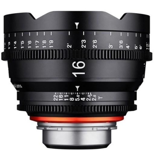 XEEN 16mm T2.6 Impérial Monture MFT - Objectif Prime