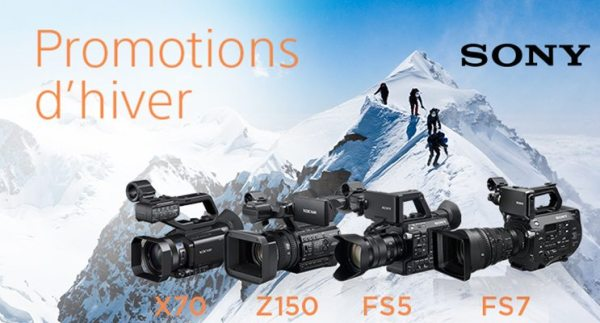 Promotions d'hiver Sony