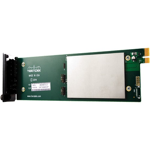 CARTE DECODEUR H264 HD-SDI T-RAX 10-1106-2 TERADEK