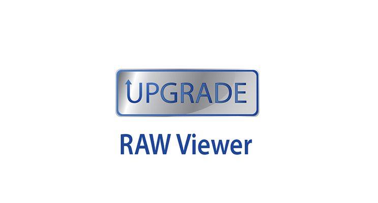 Mise à jour logiciel RWV-10 : RAW Viewer V2.2 (Win + Mac)