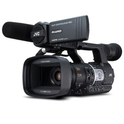 CAMERA DE POING HD/SD ZOOM 19X JVC Y-HM360