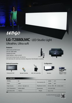 Ultra-matte LEDGO Bi-couleur 288W