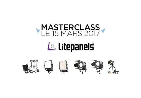 Masterclass LitePanels 15 mars 2017