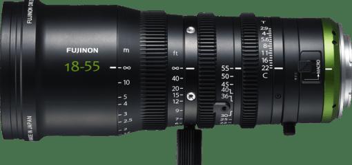 ZOOM 18-55 MM T2.9 MONTURE E FUJINON MK18-55