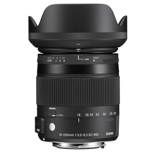 Sigma 18-200mm F3.5-6.3 DC II OS HSM Canon EF - Objectif