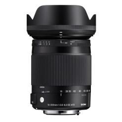 Sigma 18-300mm F3.5-6.3 DC MACRO OS HSM Canon EF - Objectif