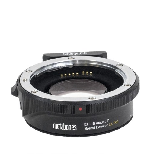 BAGUE D'ADAPTATION METABONES CANON EF VERS E SPEED BOOSTER ULTRA T