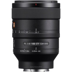 OPTIQUE SONY SEL FE 100mm F2.8 STF GM OSS