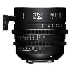 OBJECTIF SIGMA 24MM T1.5 FF F/CE (82mm) Canon EF
