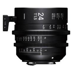OBJECTIF SIGMA 24MM T1.5 FF F/AP (82mm) PL