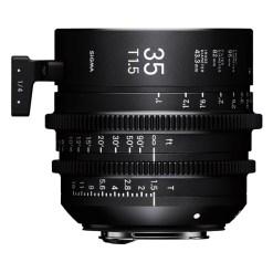 Sigma 35mm T1.5 FF (Canon EF) - Objectif Prime Cinéma