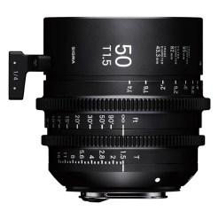 OBJECTIF SIGMA 50MM T1.5 FF F/VE (82mm) Sony E